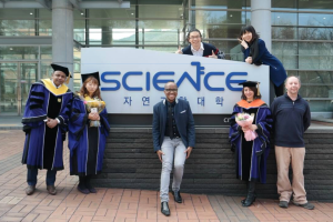 Graduation at Seoul National University